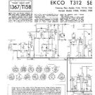 EKCO T312 Equipment Service Information by download #90298