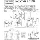 EKCO T377F Equipment Service Information by download #90316