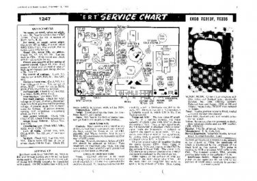 EKCO TC335 Equipment Service Information by download #90351