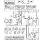 EKCO TP347 Equipment Service Information by download #90365