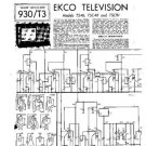 EKCO TS46 Equipment Service Information by download #90371