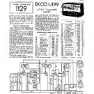 EKCO U199 Equipment Service Information by download #90386