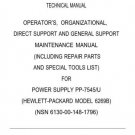 Hewlett Packard 6269B Military Technical Manual by download #90461