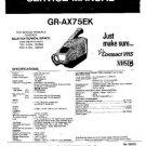 JVC GRAX75EK Service Manual by download #90529