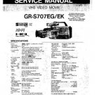 JVC GRS707 Service Manual by download #90531