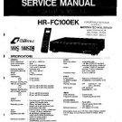 JVC HRFC100EK Service Manual by download #90535