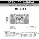 JVC MXJ100 Service Manual by download #90544