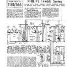 PHILIPS 1746U-45 Vintage TV Service Info  by download #90686