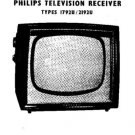 PHILIPS 1792U Vintage TV Service Info  by download #90696