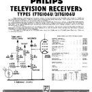 PHILIPS 17TG106U Vintage TV Service Info  by download #90699