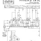 PHILIPS 19TG116U Vintage TV Service Info  by download #90704