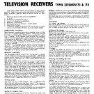 PHILIPS 23TG107U-74 Vintage TV Service Info  by download #90726