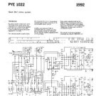 PYE 1022 Vintage Service Information  by download #90777