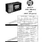 PYE 1101 Vintage Service Information  by download #90778