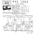 PYE 1202 Vintage Service Information  by download #90782