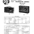 PYE 1351 Vintage Service Information  by download #90787