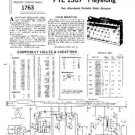 PYE 1367 Vintage Service Information  by download #90799