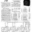 PYE B4D Vintage Service Information  by download #90855