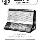 PYE H Vintage Service Information  by download #90919