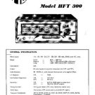 PYE HFT300 Vintage Service Information  by download #90921
