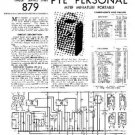 PYE M78F Vintage Service Information  by download #90931