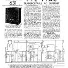 PYE P160BQ Vintage Service Information  by download #90964