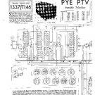 PYE PTV Equipment Service Information by download #90968