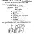 PYE QAC38 Vintage Service Information  by download #90975