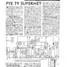 PYE T462 Equipment Service Information by download #91003