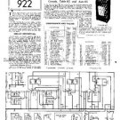 PYE TABLE RG Vintage Service Information  by download #91006