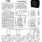 PYE TWINTRIPLE Vintage Service Information  by download #91023
