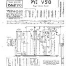 PYE V510 Equipment Service Information by download #91034