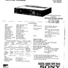 SONY DTC1000ES Service Manual by download #91072