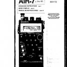 SONY ICFPRO80 Receiver Operating Guide by download #91090
