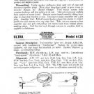 ULTRA 6128 Equipment Service Information by download #91148