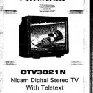 AMSTRAD CTV3021N Service Manual by download #91270