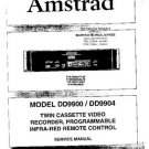 AMSTRAD DD9900 Service Manual by download #91274