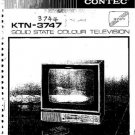 CONTEC KTN3744 Colour TV Service Manual by download #91299