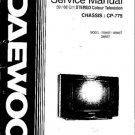 DAEWOO 2594ST Service Manual  by download #91328