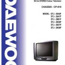 DAEWOO DTJ28A7F Service Manual  by download #91342