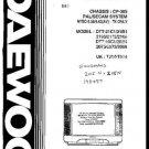 DAEWOO DTT20B1 Service Manual  by download #91347