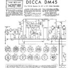 DECCA DM45 Service Information  by download #91383