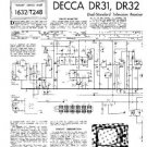 DECCA DR31 Service Information  by download #91389