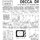 DECCA DR41 Service Information  by download #91390