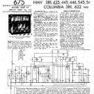 HMV 445 Vintage Service Information  by download #91746