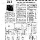 HMV 501 Vintage Service Information  by download #91764
