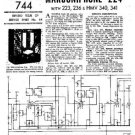MARCONI 223 Vintage Service Information  by download #91778
