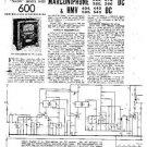 MARCONI 278DC Vintage Service Information  by download #91799