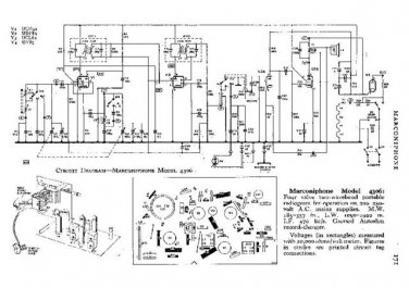 MARCONI 4306 Vintage Service Information  by download #91828