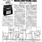 MARCONI 895 Vintage Service Information by download #91858